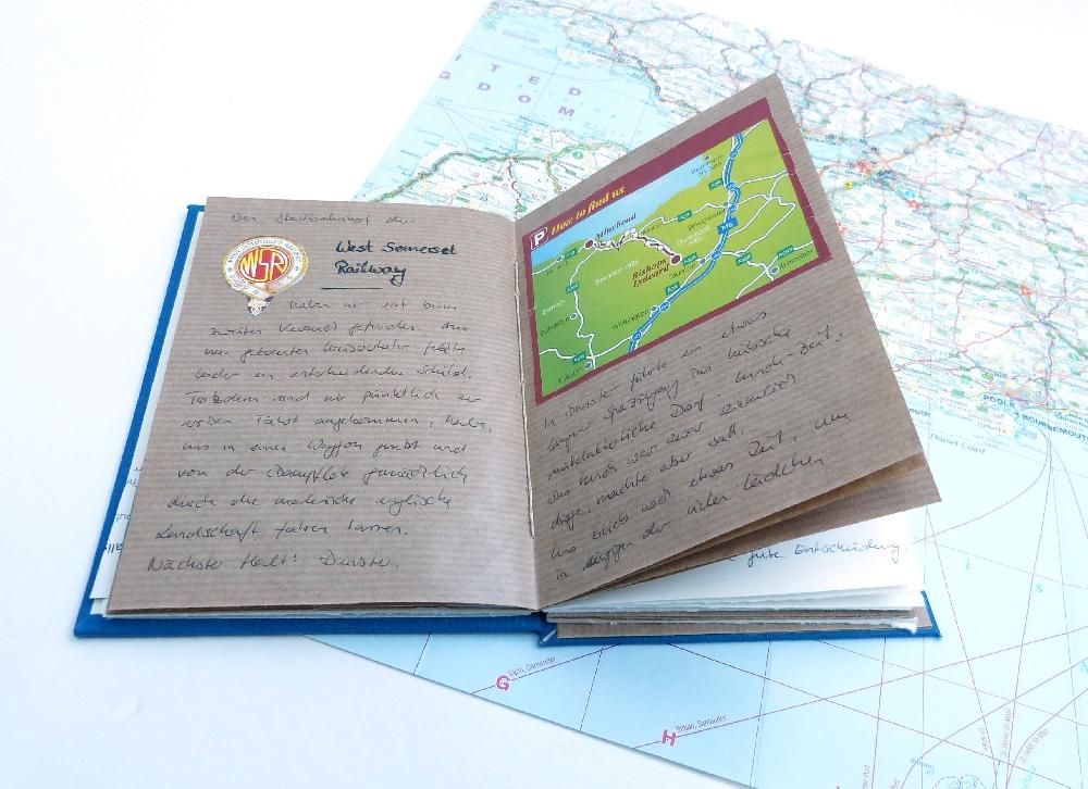 Reisejournal Erinnerungen schaffen